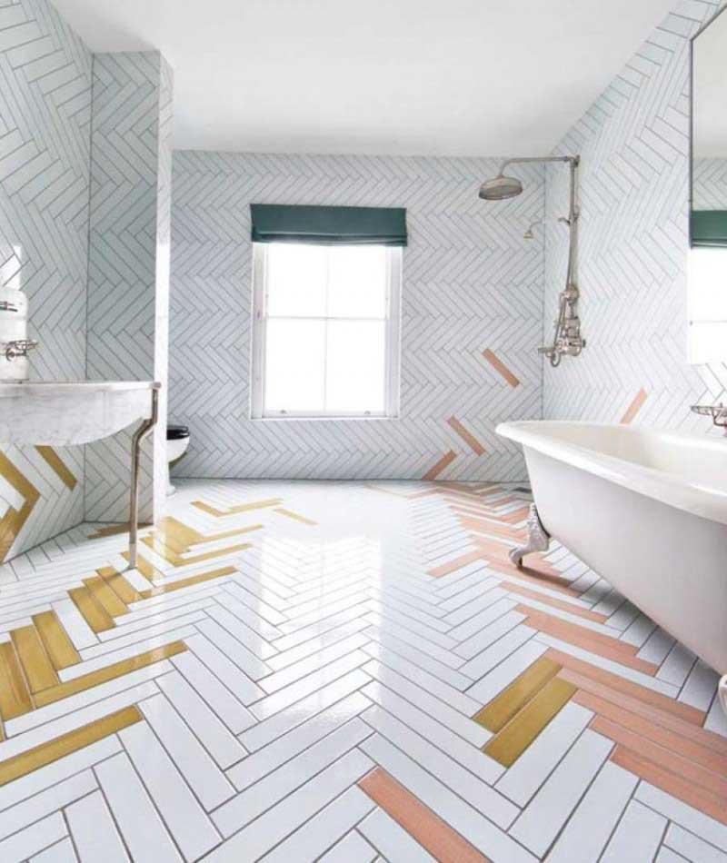 Làm đẹp phòng tắm với gạch viglacera phủ men