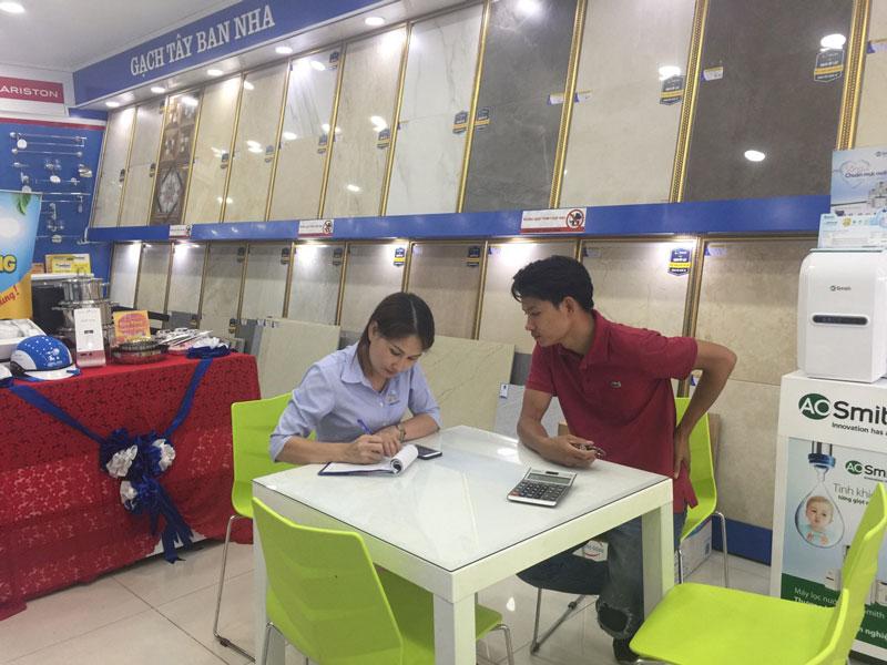 Tư vấn khách hàng Hải Linh