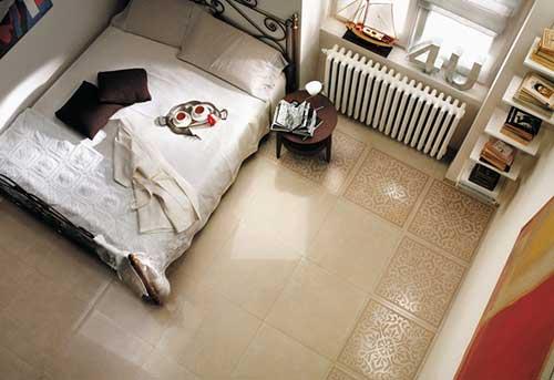 gạch lát nền phòng ngủ theo phong thủy