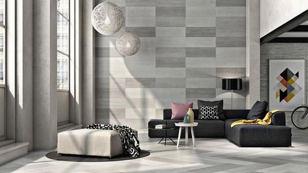 5 mẫu gạch ốp tường phòng khách được thi công nhiều nhất 2