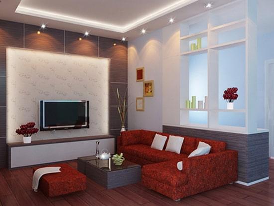 Cách trang trí phòng khách nhỏ 15m2 đảm bảo tiện nghi