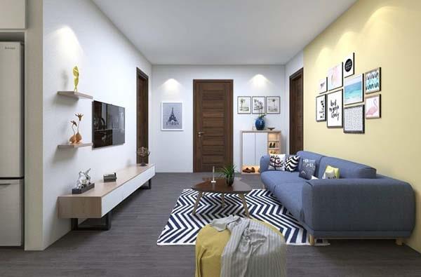 Cách trang trí phòng khách nhỏ 15m2 rộng và thoáng hiệu quả