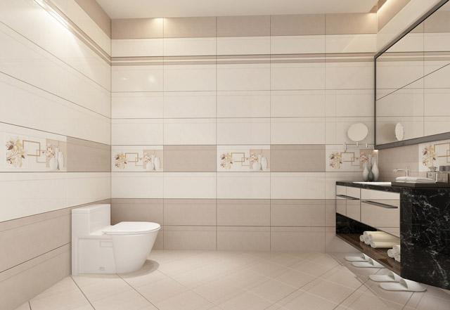 5 lý do nên chọn gạch men ốp lát nhà tắm
