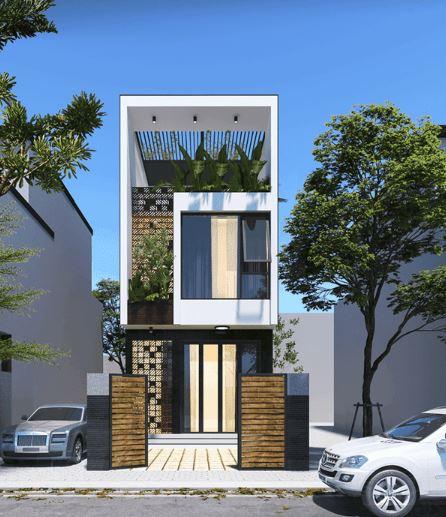 mẫu nhà 2 tầng đẹp 3