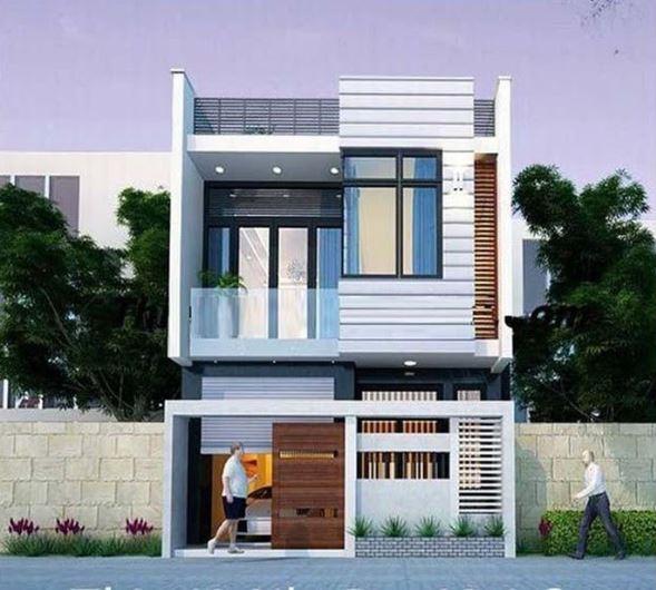 mẫu nhà 2 tầng đẹp 7