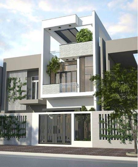 mẫu nhà 2 tầng đẹp 2
