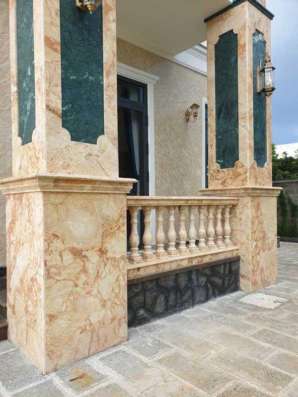 Tiêu chí chọn gạch ốp cột hiên nhà đẹp 3