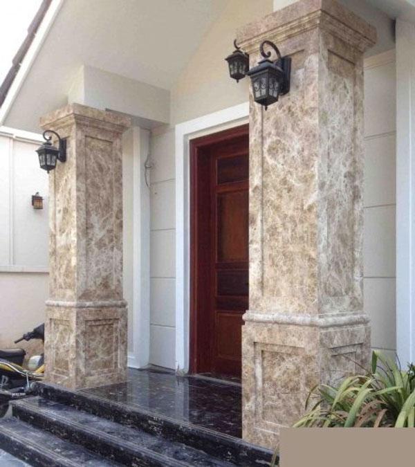 Tiêu chí chọn gạch ốp cột hiên nhà đẹp 2