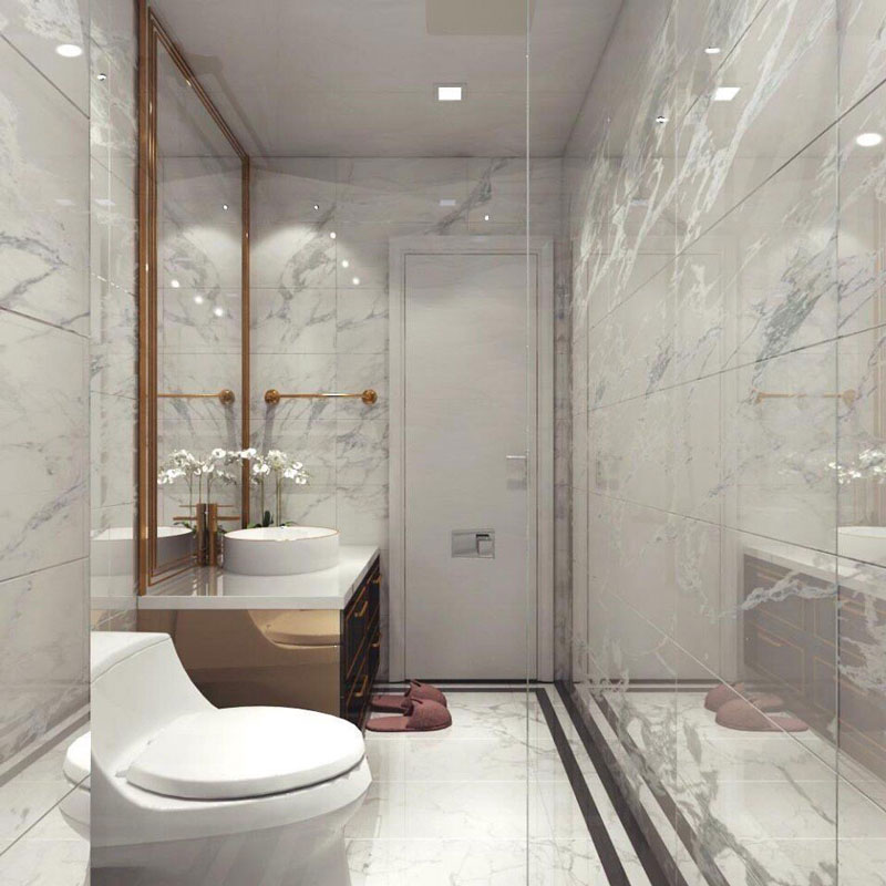 mẫu gạch ốp lát nhà vệ sinh đẹp cho nhà phố 3