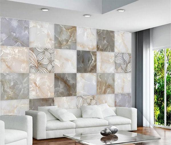 Điểm danh các mẫu gạch ốp tường phòng khách đẹp 2021 2