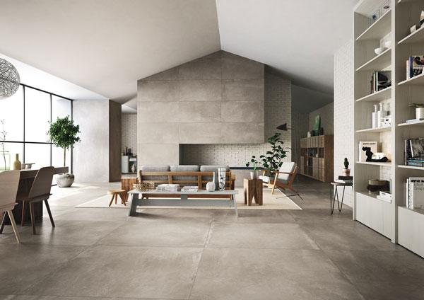 Điểm danh các mẫu gạch ốp tường phòng khách đẹp 2021 5