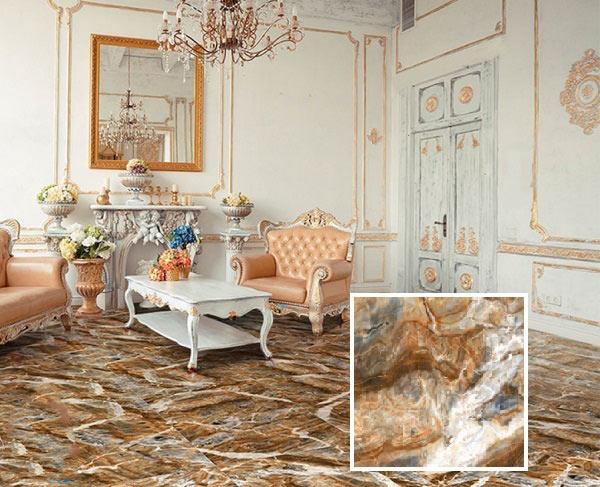 TOP mẫu gạch lát nền phòng khách 80x80 vân đá đẹp xuất sắc nên chọn 1