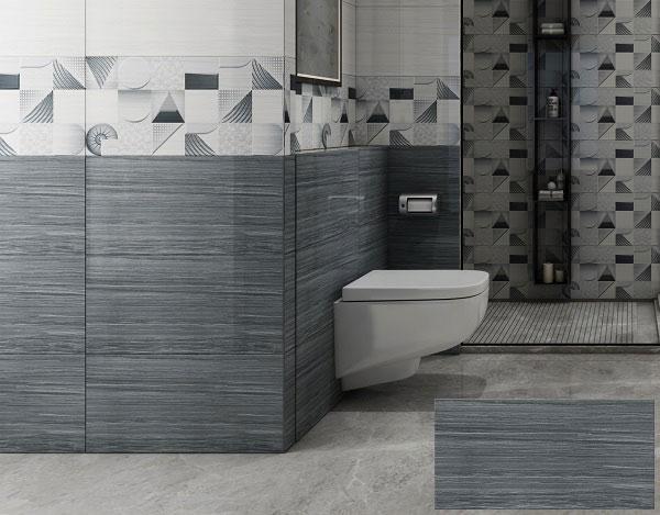 TOP mẫu gạch ốp nhà vệ sinh màu ghi đẹp chuẩn xu hướng 2021 3