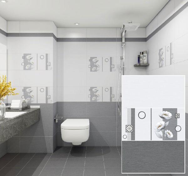 TOP mẫu gạch ốp nhà vệ sinh màu ghi đẹp chuẩn xu hướng 2021 6
