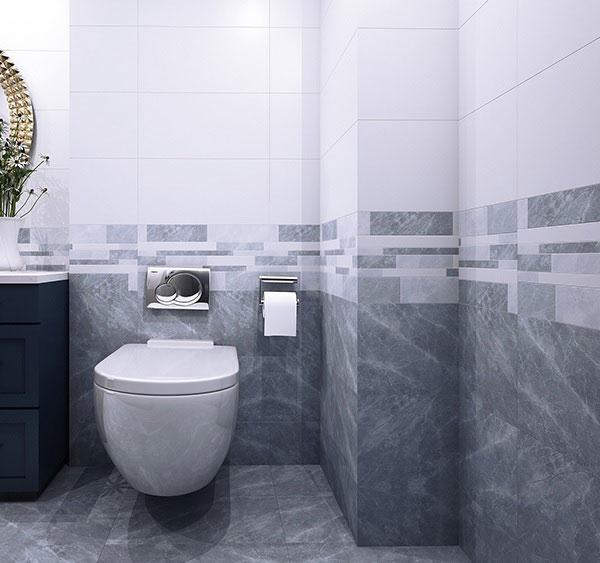 TOP mẫu gạch ốp nhà vệ sinh màu ghi đẹp chuẩn xu hướng 2021 8