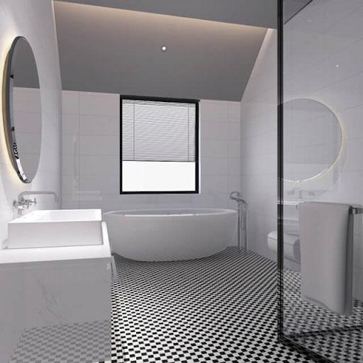 TOP mẫu gạch ốp tường 30x60 màu trắng Viglacera được lựa chọn nhiều nhất hiện nay 1