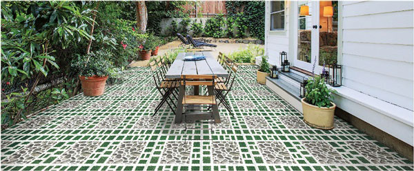 TOP 5 mẫu gạch lát sân vườn đẹp - giá rẻ được chọn nhiều nhất hiện nay 1