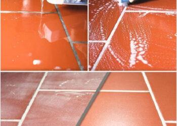 Cách vệ sinh gạch đỏ