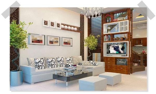 Các mẫu phòng khách đẹp nhà ống [THAM KHẢO NGAY] 13
