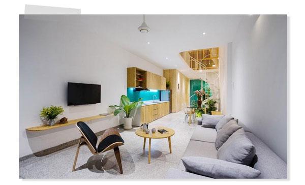 Các mẫu phòng khách đẹp nhà ống [THAM KHẢO NGAY] 4