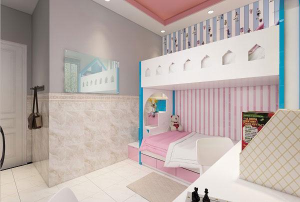 Chọn gạch phòng ngủ cho bé gái cần lưu ý điều gì 3