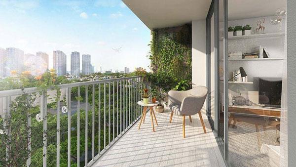 Thiết kế ban công chung cư cần lưu ý điều gì? 8